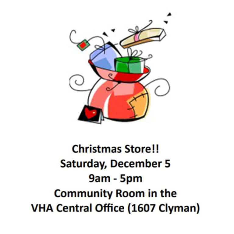 Christmas Store Flyer