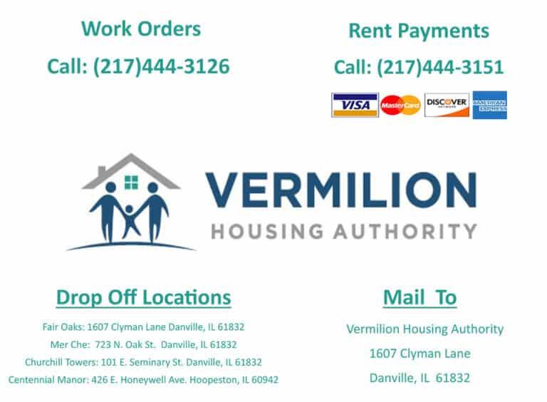 Vermilion Housing Authority Work Order Information