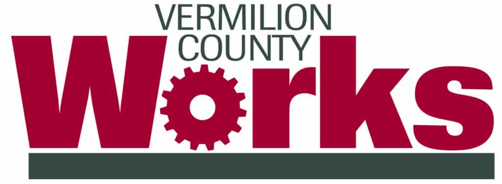 vermilion county works logo